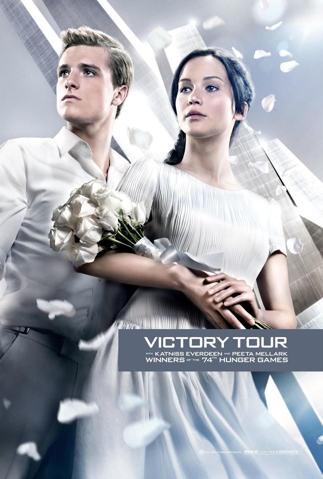 Nuevo póster de LOS JUEGOS DEL HAMBRE: EN LLAMAS ~ Cine1 Posters