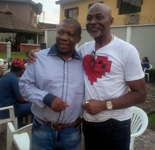 richard mofe damijo 53rd birthday