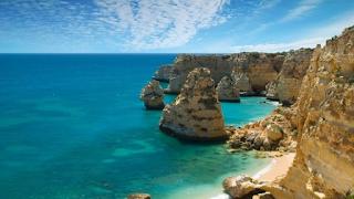 Pantai Pasir putih Portugal