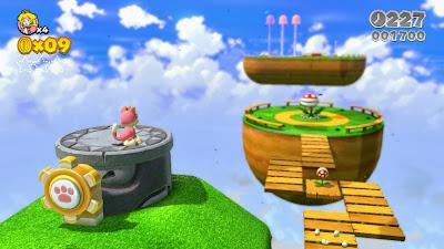 super mario 3d world pink cat