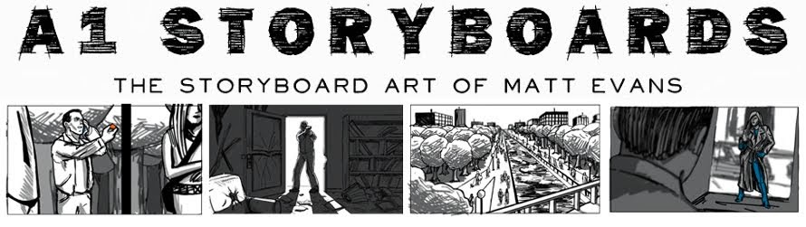 A1 Storyboards The Storyboard Art Of Matt Evans: Comic Sneak Peak!