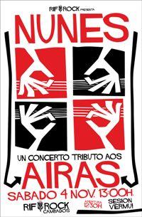 NUNES, un tributo a AIRAS (4nov)