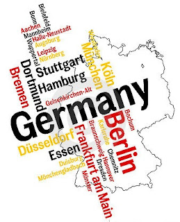 map Germany cities