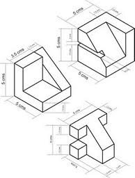 Expresi n gr fica dibujo isometrico y perspectiva isometrica for Programa para hacer planos sencillos