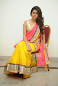 Shraddha das photos in Saree at Rey audio launch-thumbnail-20