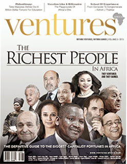 have You Seen Ventures Africa's Richest People in Africa 2013 List