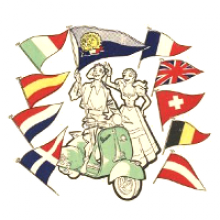 Logo del 1° Eurovespa
