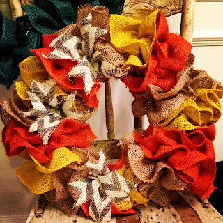 Backspace Boutique Burlap Wreath | The M House