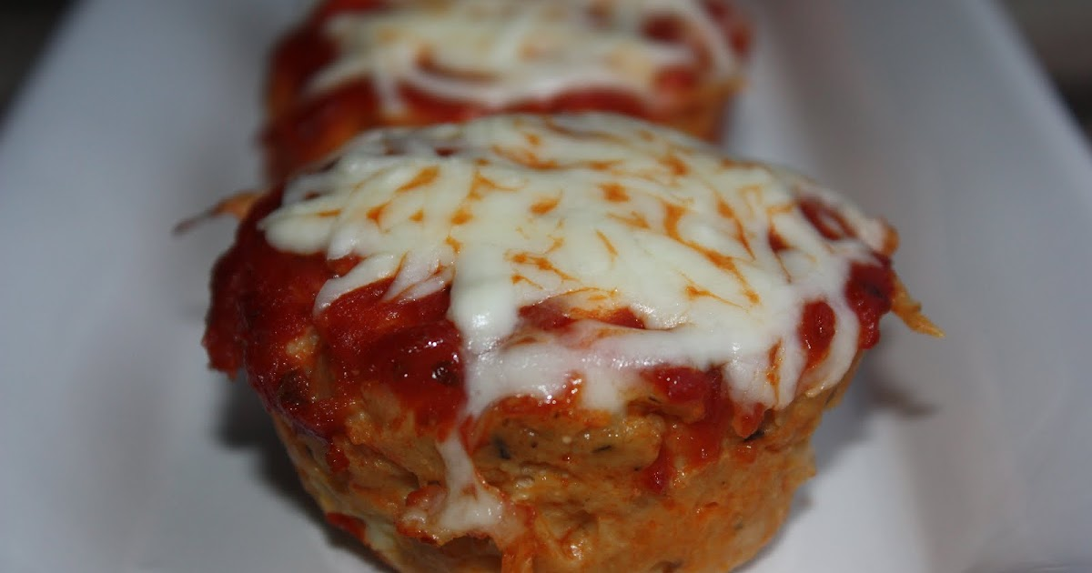Southern Living Yankee: Chicken Parmesan Meatloaf Muffins