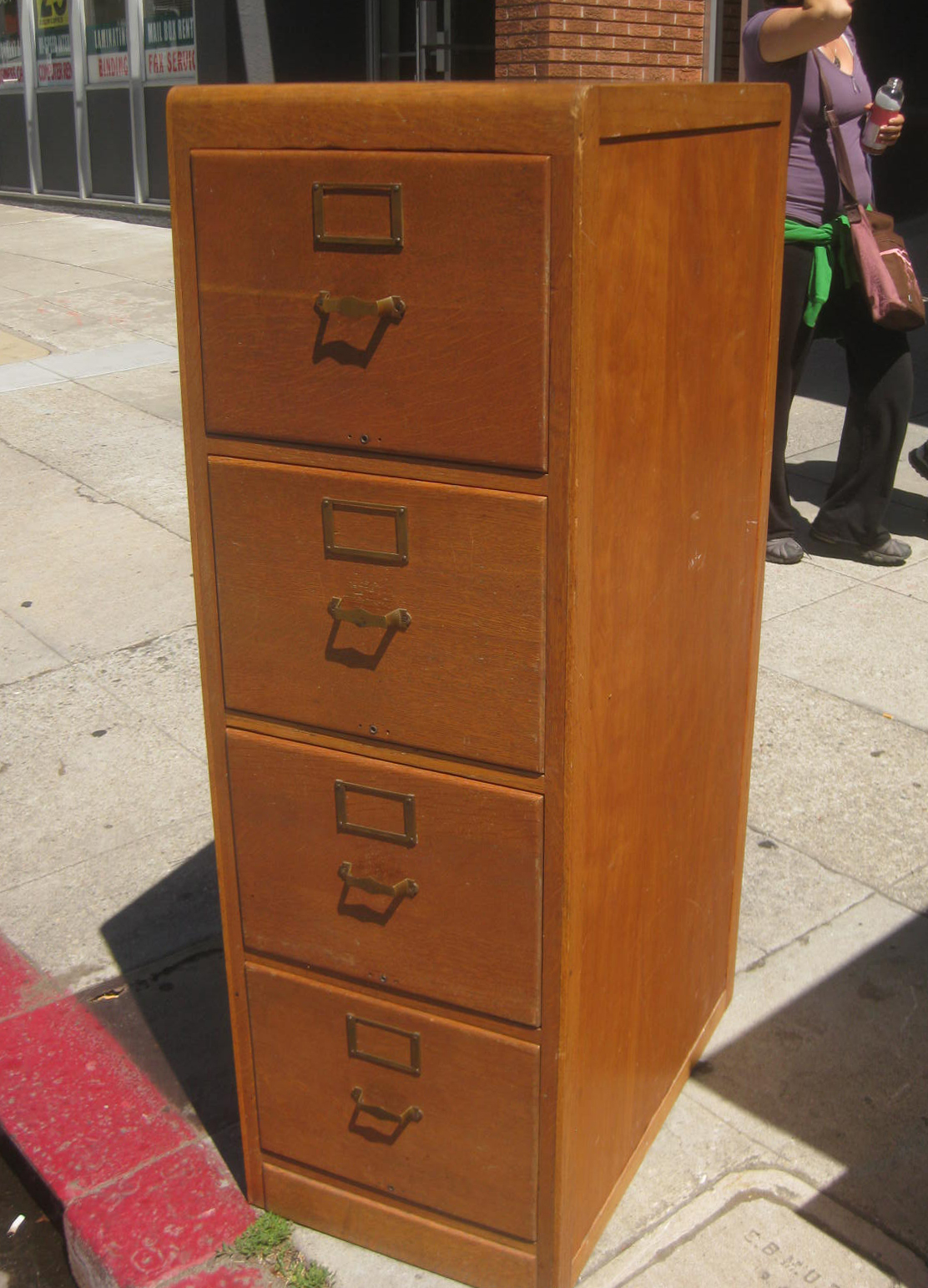 Fantastic Lovely Wood Filing Cabinet 4 Drawer 4 4 Drawer Wood File Cabinet