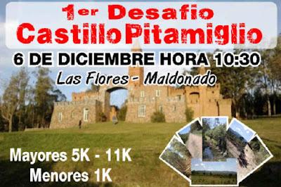 11k y 5k Castillo Pittamiglio (Las Flores, Piriápolis, 06/dic/2015)