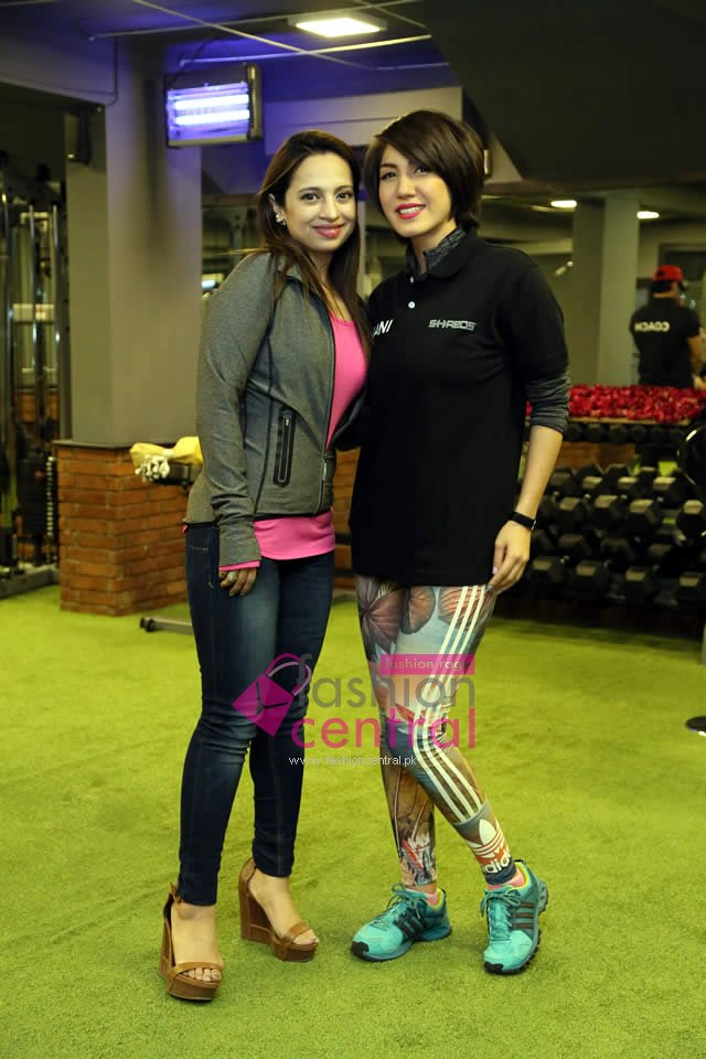 Launching Of Shreds Fitness Centre In Karachi