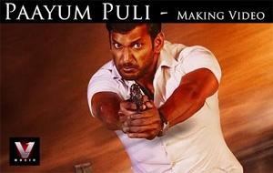 Paayum Puli – Making Video | Vishal,Kajal Aggarwal | D Imman | Suseenthiran