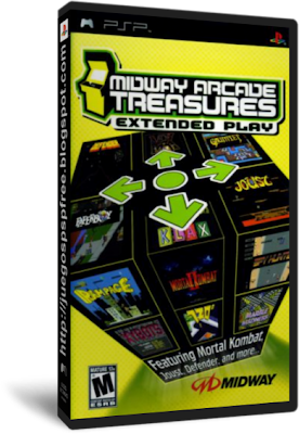PSP - Midway Arcade Treasures: Extended Play