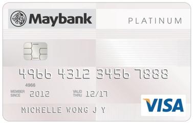 Maybank Platinum Visa Credit Card