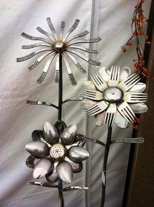 Cutlery Art Design Ideas Craft Art Ideas