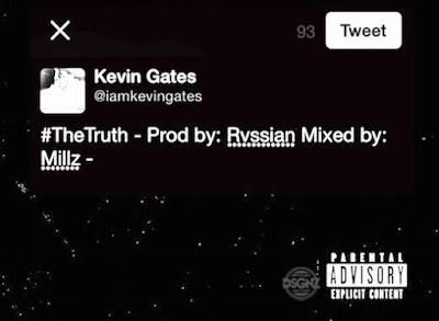 Kevin Gates – The Truth (Speaks On Kicking Fan)