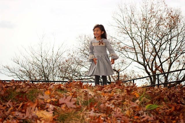 Chambray Dress | Tartaleta | European Kids Fashion | Chichi Mary