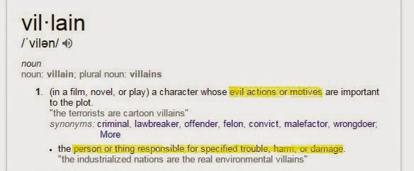 Writer And Proud The Difference Between Villains And Antagonists
