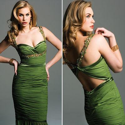 sexy-body-hugging-green-evening-dress