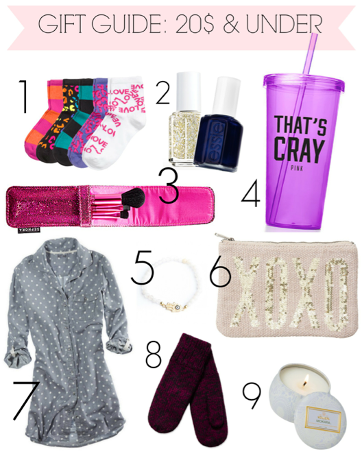 Holiday Gift Guide 20 Dollars Under Rach Speed