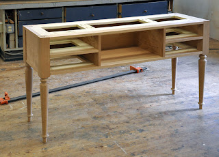 custom%2Bcherry%2Bconsole%2B2 a studio style console table
