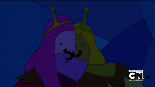 That triple mouth is fucking unsettling. And I don't want to know what the Ice King did to form her vag.
