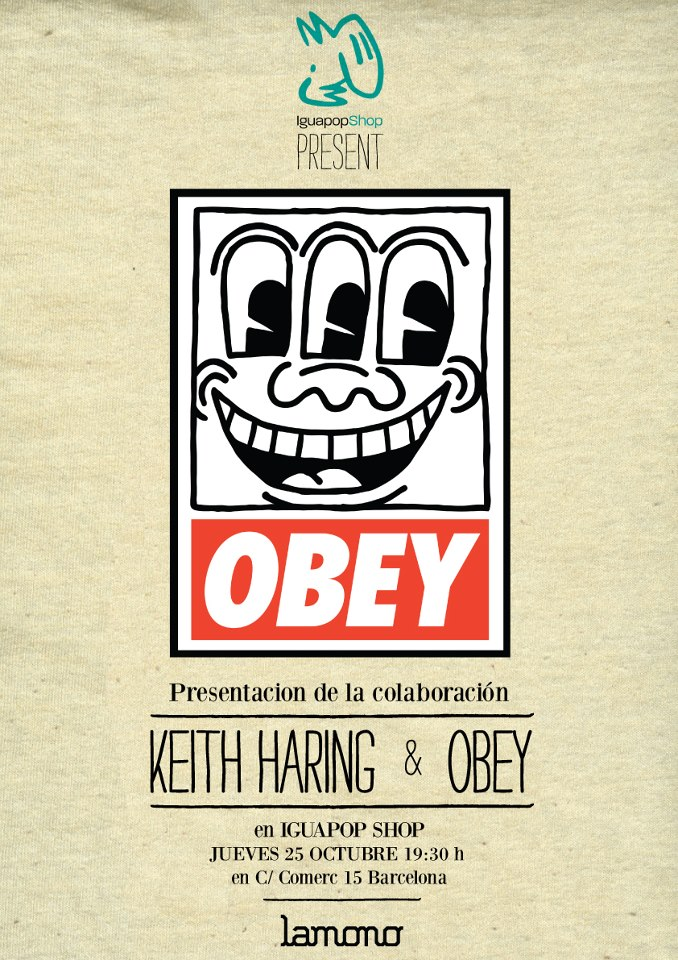 KEITH HARING & OBEY en Iguapop
