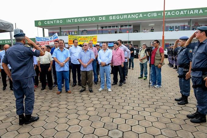 Governador Omar Aziz lança Ronda no Bairro em Itacoatiara