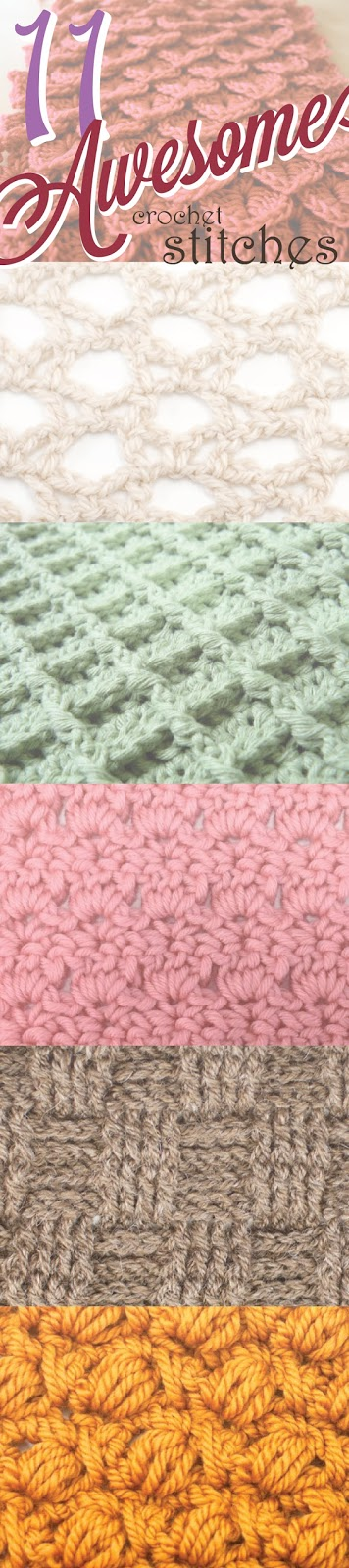 Cottontail Crochet: 11 Awesome Crochet Stitches