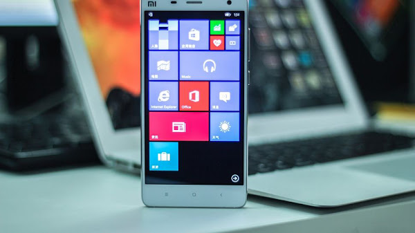 Xiaomi Mi 4 running Windows 10