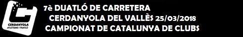 Duatló de Cerdanyola 25 Març 2018 - Campionat de Catalunya de clubs