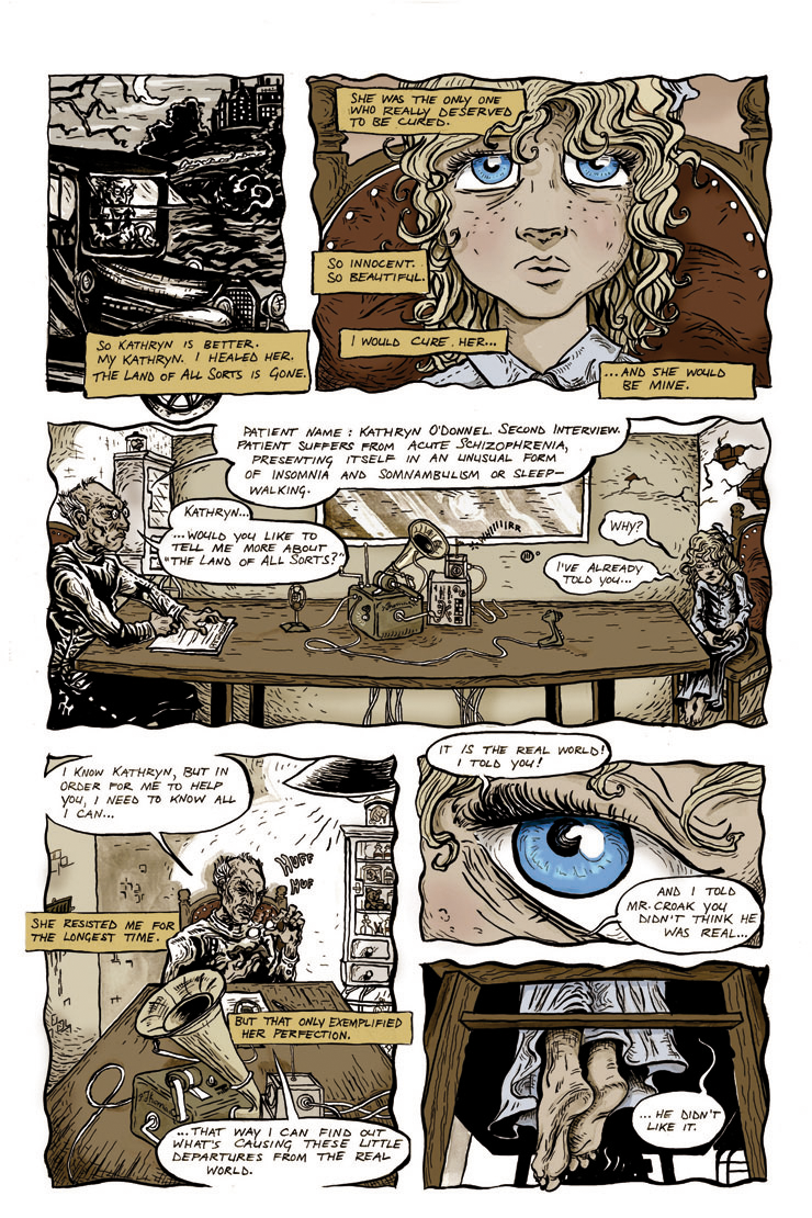 eagle awards nominee land-of-all-sorts horror comic