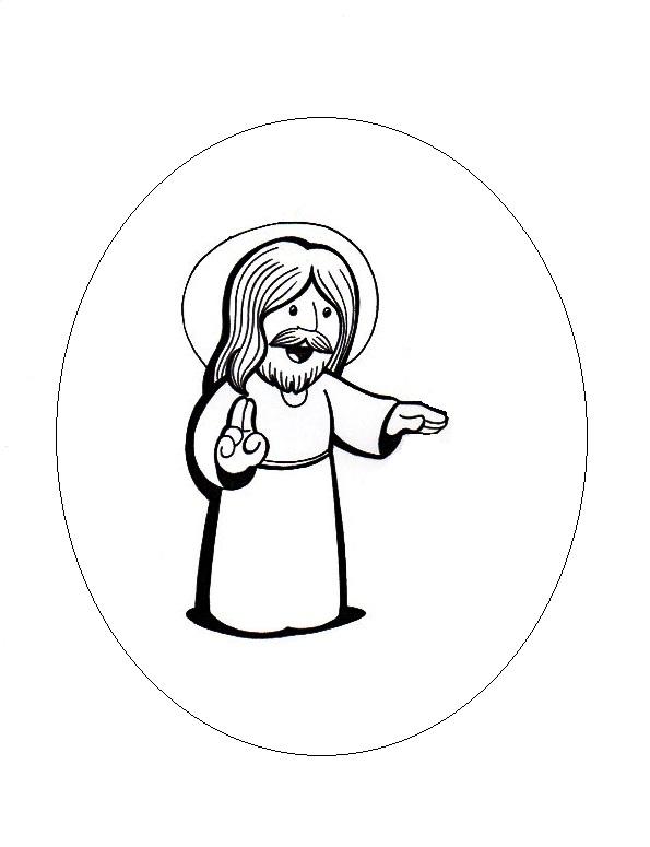 El Rincn de las Melli Dibujos de Jesus