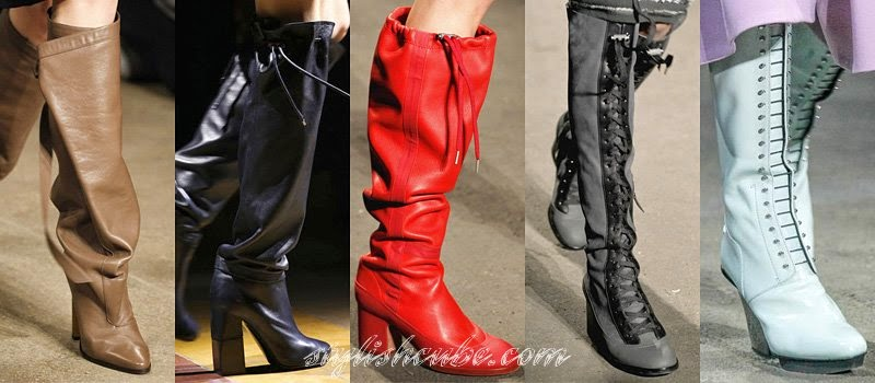 Fall 2014 Women's High Boots Fashion Trends