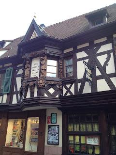 Ribeauville high street