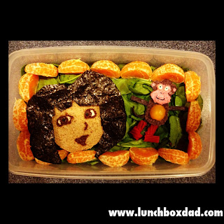 dora the explorer kids lunch