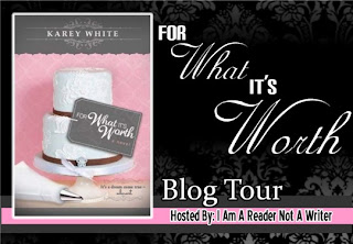 For What It's Worth by Karey White Blog Tour badge.