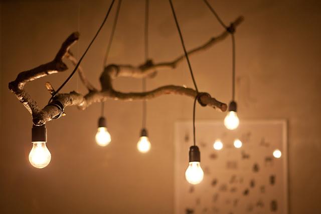 Оригинальные светильники своими руками фото