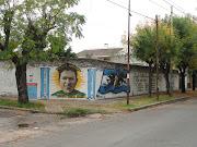 Inundaciones en Aldo Bonzi, 2 de Abril de 2013 mural malvinas aldo bonzi