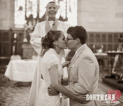 Wedding Ceremony Recap - Traditional Church Ceremony - St Paul's Anglican Church, Burwood - The Kiss