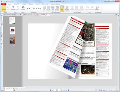 برنامج لتصفح الكتب الإلكترونية pdf 3d