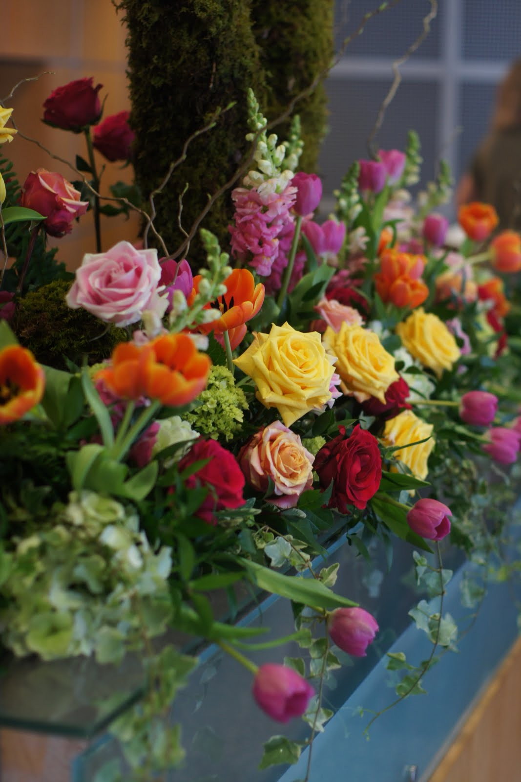 Knestrick By Design A Big V And Spring Flowers