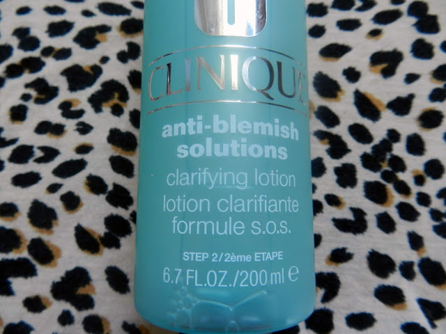 Clinique anti-blemish solutions clarifying lotion step 2