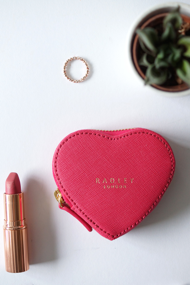 Hello Freckles #WearYourHeart Radley Sweetheart BHF Campaign