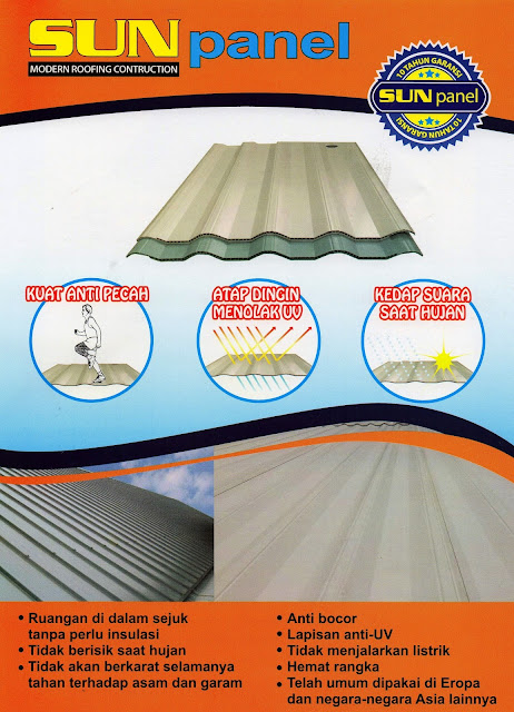Brosur Atap PVC Sun Panel