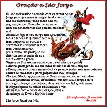 Oração de São Jorge Matador de dragão