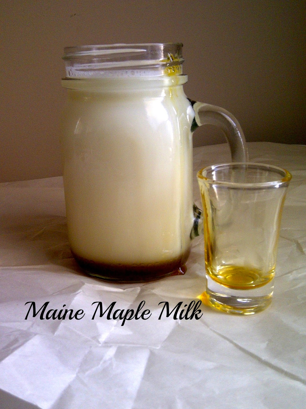 Skip the processed powders, try 100% natural Maine Maple Milk!