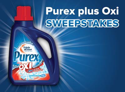 Purex plus Oxi sweepstakes