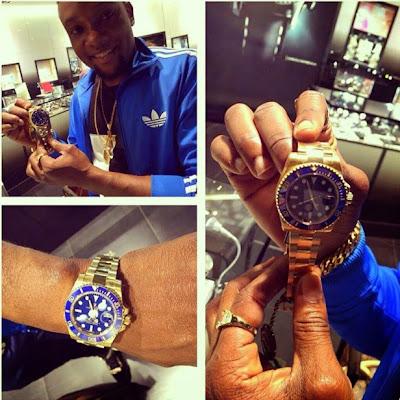 Kcee_Buys_Rolex_Watch